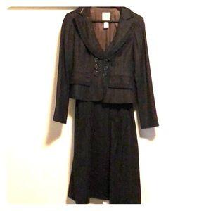 Nanette Lepore wool jumper/jacket combo